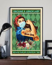 I Became A Lunch Lady Teacher Poster 11x17 Poster lifestyle-poster-2