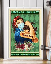 I Became A Lunch Lady Teacher Poster 11x17 Poster lifestyle-poster-4