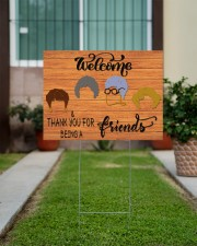 Thank You For Being A Friend 24x18 Yard Sign aos-yard-sign-24x18-lifestyle-front-14
