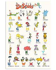 Alphabet 11x17 Poster front