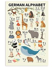 Animal Alphabet Poster 11x17 Poster front