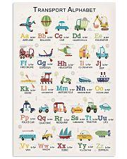 Transport Alphabet Teacher Print Poster 11x17 Poster front