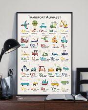 Transport Alphabet Teacher Print Poster 11x17 Poster lifestyle-poster-2