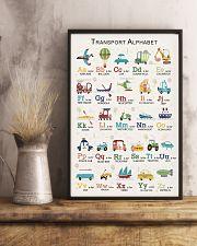 Transport Alphabet Teacher Print Poster 11x17 Poster lifestyle-poster-3