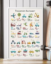 Transport Alphabet Teacher Print Poster 11x17 Poster lifestyle-poster-4