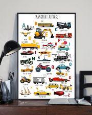 Teacher Transport Alphabet 11x17 Poster lifestyle-poster-2