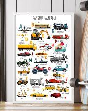 Teacher Transport Alphabet 11x17 Poster lifestyle-poster-4