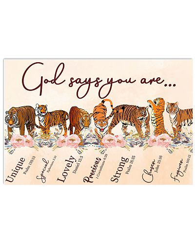 Tiger God Say You Are