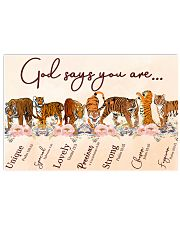 Tiger God Say You Are 17x11 Poster front