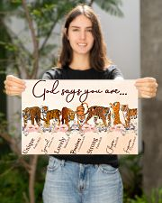 Tiger God Say You Are 17x11 Poster poster-landscape-17x11-lifestyle-19