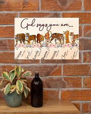 Tiger God Say You Are 17x11 Poster poster-landscape-17x11-lifestyle-23