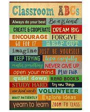 Classroom ABCs Poster 11x17 Poster front