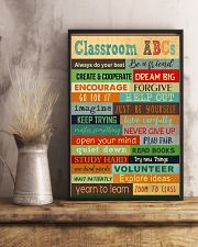 Classroom ABCs Poster 11x17 Poster lifestyle-poster-3
