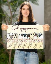 Sheep God Say You Are 17x11 Poster poster-landscape-17x11-lifestyle-19