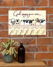 Sheep God Say You Are 17x11 Poster poster-landscape-17x11-lifestyle-23