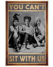 You Can't Sit With Us Vintage 11x17 Poster front