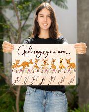 Kangaroo God Say You Are 17x11 Poster poster-landscape-17x11-lifestyle-19