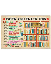 Come In Learn About Everything You Like Poster 17x11 Poster front