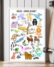 English Spanish Of Children Alphabet Poster 11x17 Poster lifestyle-poster-4
