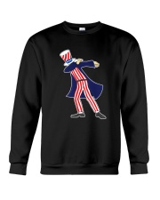 Dabbing Patriot Fourth Of July T Shirt 78 Crewneck Sweatshirt thumbnail