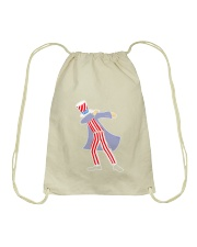 Dabbing Patriot Fourth Of July T Shirt 78 Drawstring Bag thumbnail