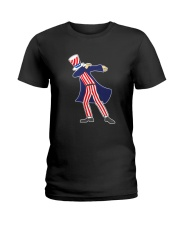 Dabbing Patriot Fourth Of July T Shirt 78 Ladies T-Shirt thumbnail