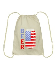 4Th Of July 49 Drawstring Bag thumbnail