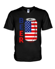 4Th Of July 49 V-Neck T-Shirt thumbnail