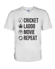 Cricket Ladoo V-Neck T-Shirt thumbnail
