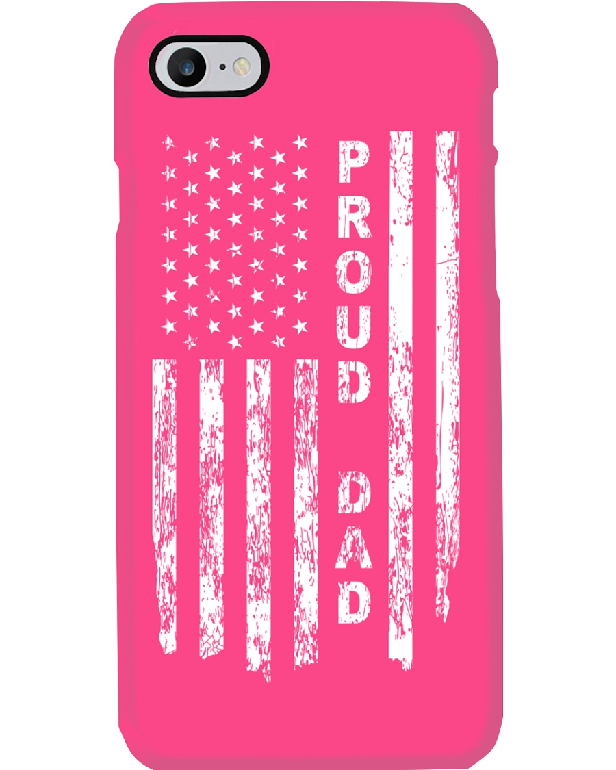 PROUD DAD US FLAG Phone Case