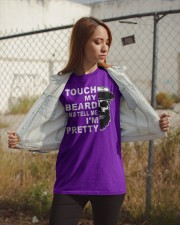 Touch My Beard And Tell Me I'm Pretty Funny Gift Classic T-Shirt apparel-classic-tshirt-lifestyle-07