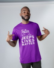 4x4 lives matter  Classic T-Shirt apparel-classic-tshirt-lifestyle-front-32