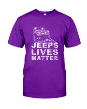 4x4 lives matter  Classic T-Shirt front