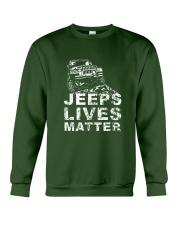 4x4 lives matter  Crewneck Sweatshirt thumbnail