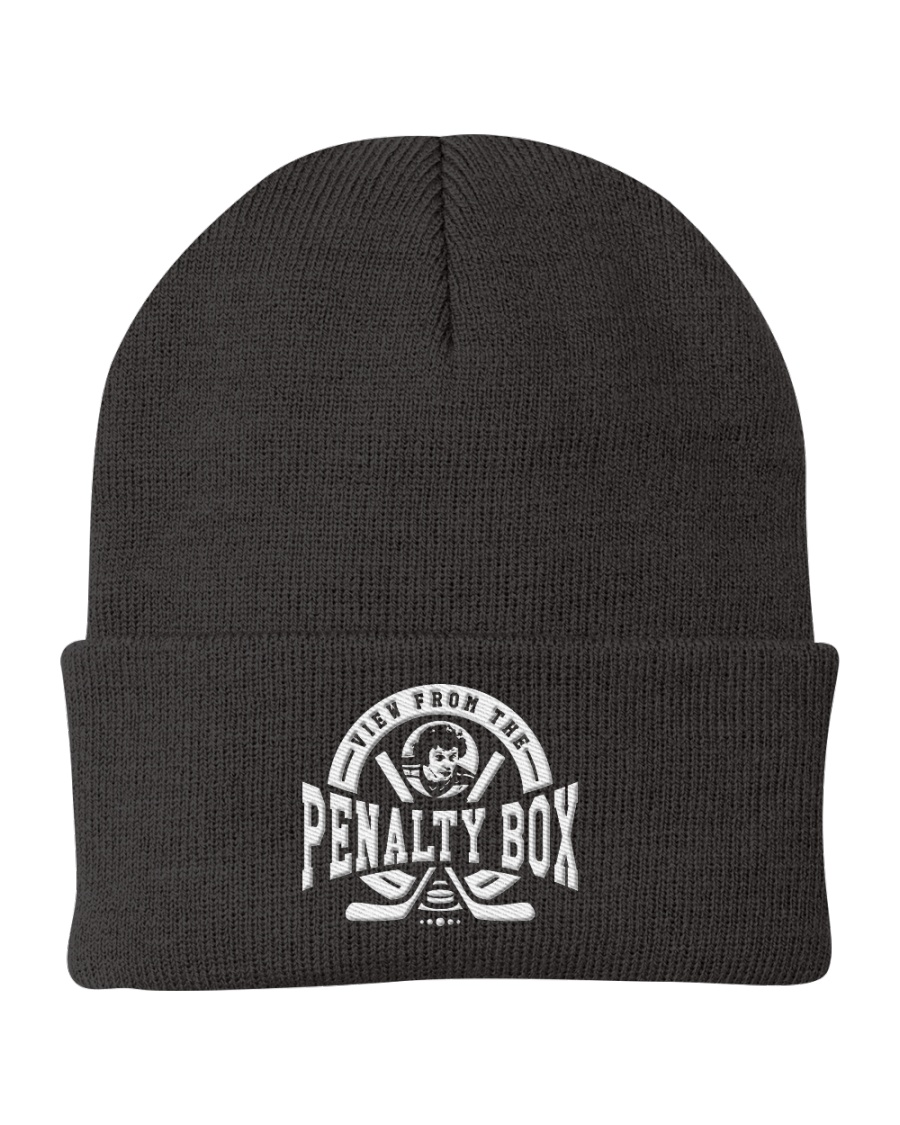 View from the Penalty Box Merchandise Knit Beanie