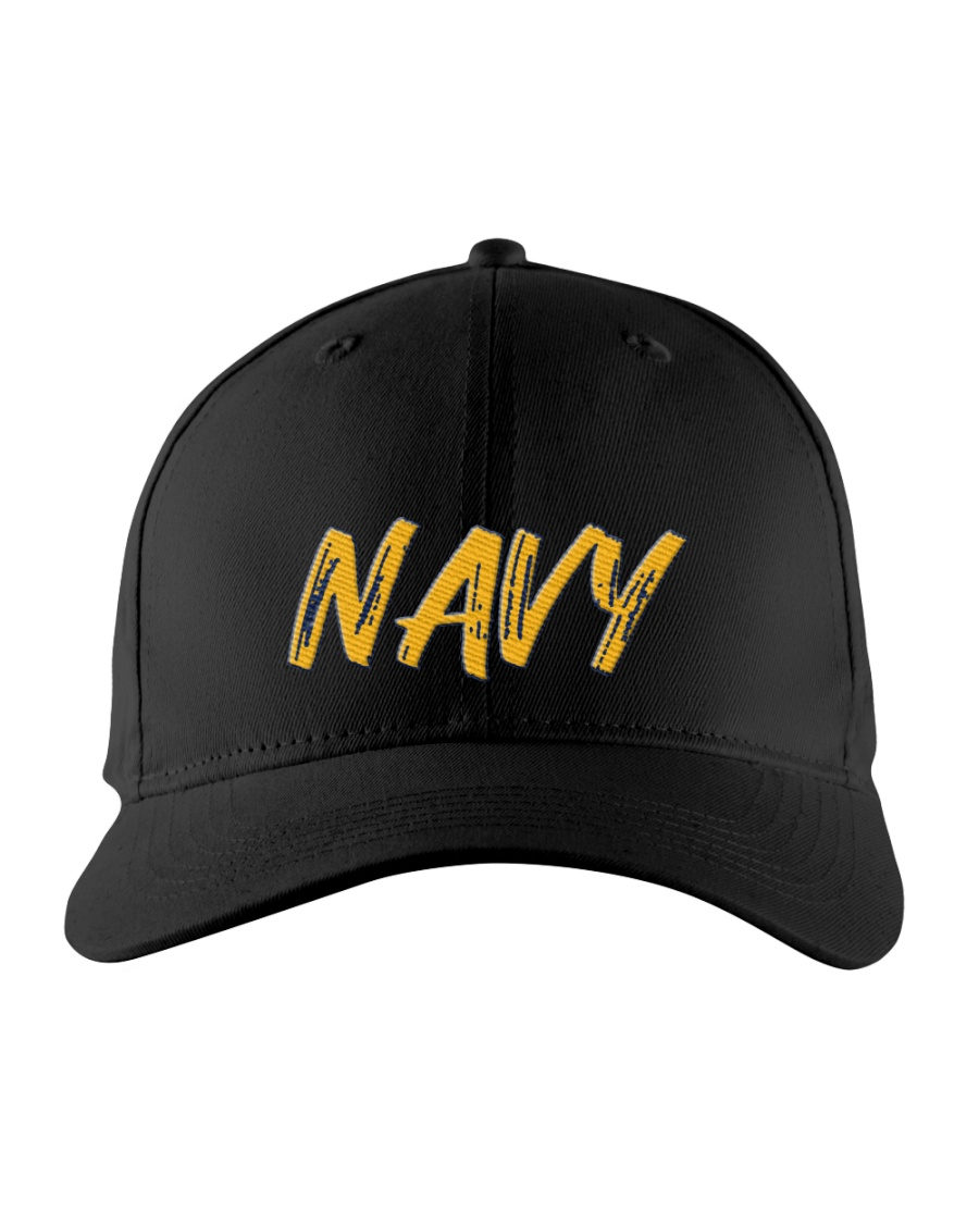 Navy Hat Embroidered Hat