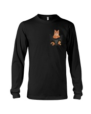 Cat In Pocket Shirt  Long Sleeve Tee thumbnail