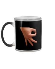 Temperature Reveal Hand Circle Mug Color Changing Mug color-changing-left