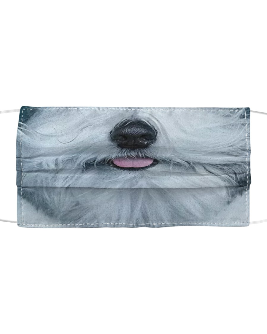 Englishsheepdog Cloth face mask