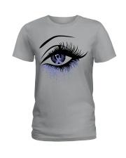 all-cancer-lavender-620 Ladies T-Shirt thumbnail