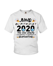 June Birthday 2020 Quarantined Youth T-Shirt tile