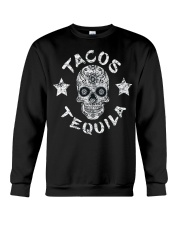 TACOS AND TEQUILA FUNNY CINCO DE MAYO DAY SHIRT Crewneck Sweatshirt thumbnail