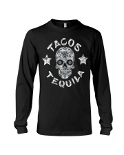 TACOS AND TEQUILA FUNNY CINCO DE MAYO DAY SHIRT Long Sleeve Tee thumbnail