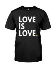 LGBT Gay Marriage Shirt - Love Is Love- Gay Pride  Classic T-Shirt thumbnail