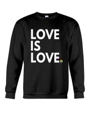 LGBT Gay Marriage Shirt - Love Is Love- Gay Pride  Crewneck Sweatshirt thumbnail