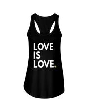 LGBT Gay Marriage Shirt - Love Is Love- Gay Pride  Ladies Flowy Tank thumbnail