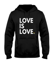 LGBT Gay Marriage Shirt - Love Is Love- Gay Pride  Hooded Sweatshirt thumbnail
