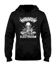 I OWN IT THE TITLE ELECTRICIAN Hooded Sweatshirt thumbnail