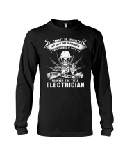 I OWN IT THE TITLE ELECTRICIAN Long Sleeve Tee thumbnail