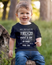 Don't Mess With Me My Crazy Grandma Slap You So Youth T-Shirt lifestyle-youth-tshirt-front-4